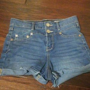 Aero jean shorts